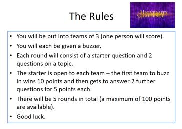 university challenge 2